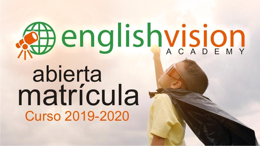matrícula curso para niños 2019-2020